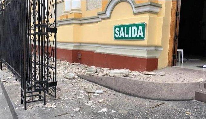 Sismo de magnitud 6,1 se registró en Perú y se sintió también en Ecuador