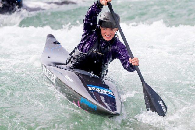 La kayakista Sofía Reinoso