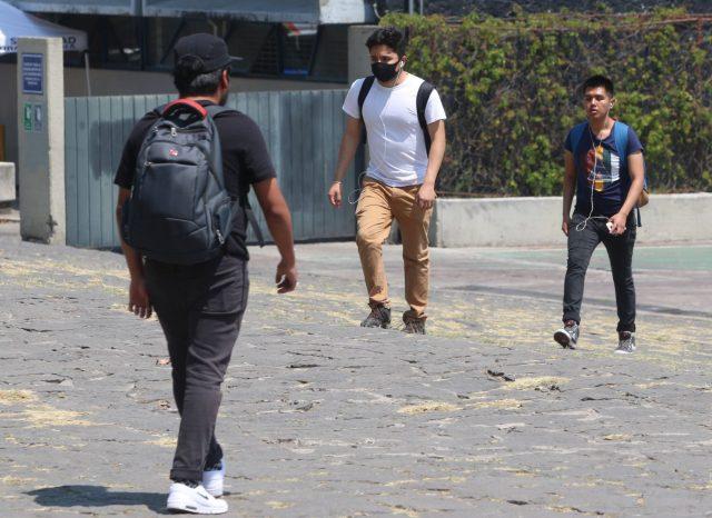 Clases presenciales en la UNAM