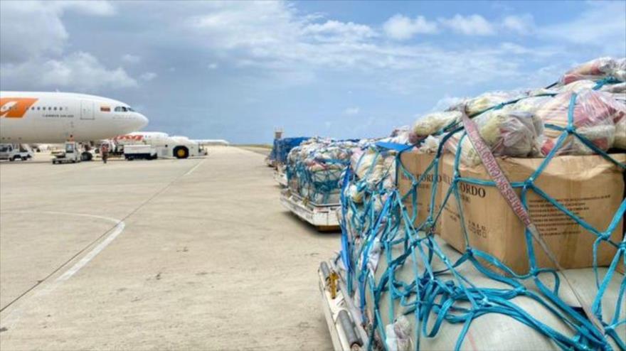 Haití recibe segundo vuelo humanitario enviado por Venezuela: 30 toneladas de insumos fundamentales