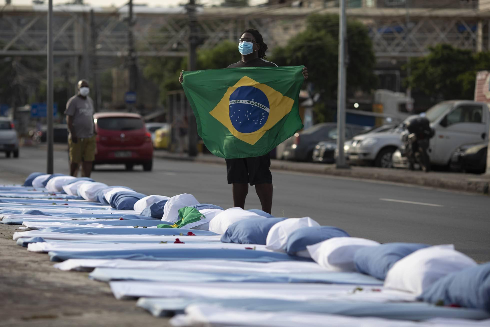 Brasil se acerca a las 580.000 muertes por Covid-19 desde el inicio de la pandemia