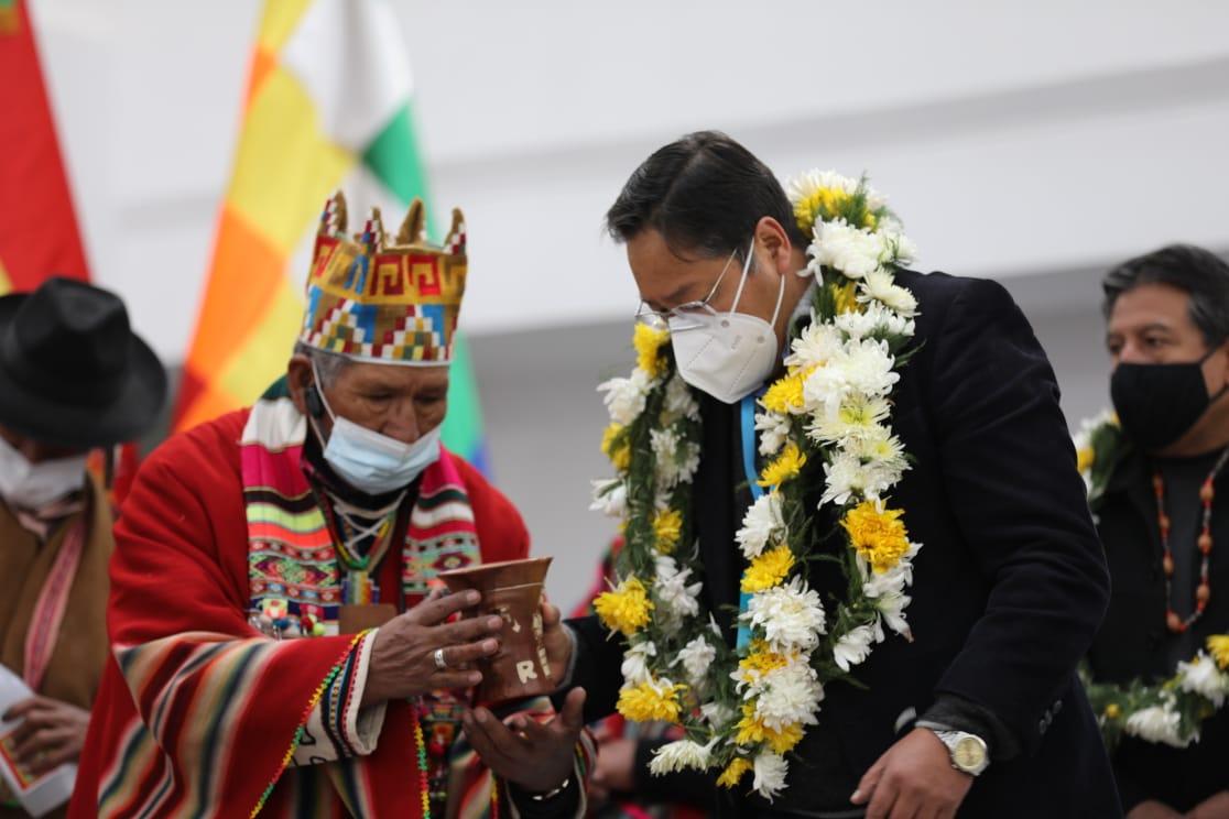 Arce entregó nueva sede de la Asamblea Legislativa Plurinacional de Bolivia