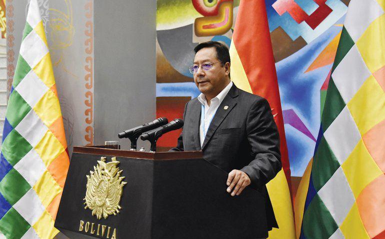 Arce advierte que Bolivia «ya no está más para soportar ninguna impunidad»