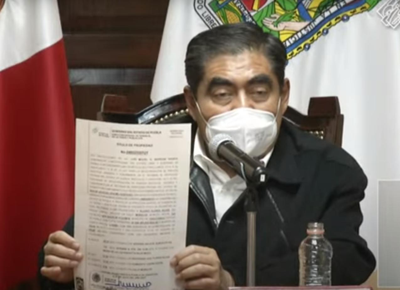 Gobierno del Estado de Puebla entregará miles de títulos de propiedad a lo largo de agosto