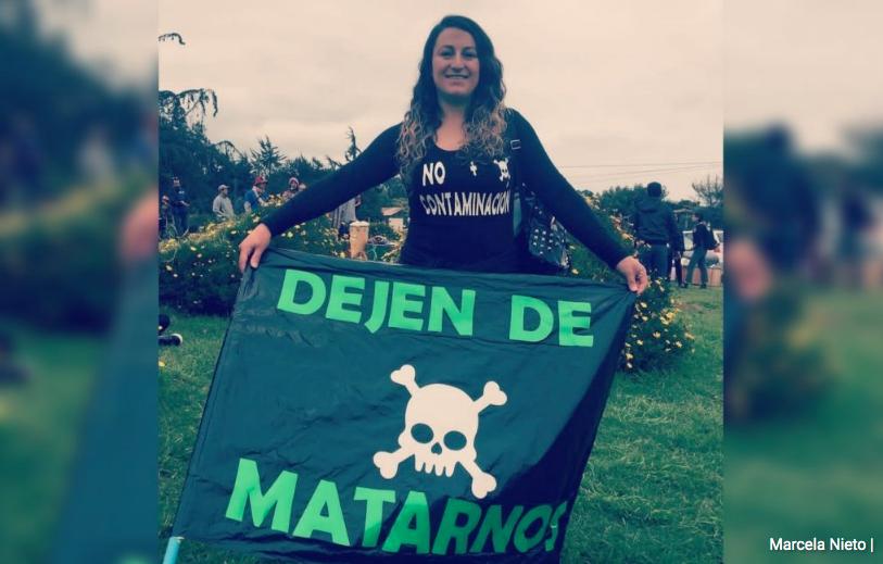 Marcela Nieto, defensora medioambiental amenazada de muerte y violación: «Siempre somos las mujeres las más afectadas y atacadas»