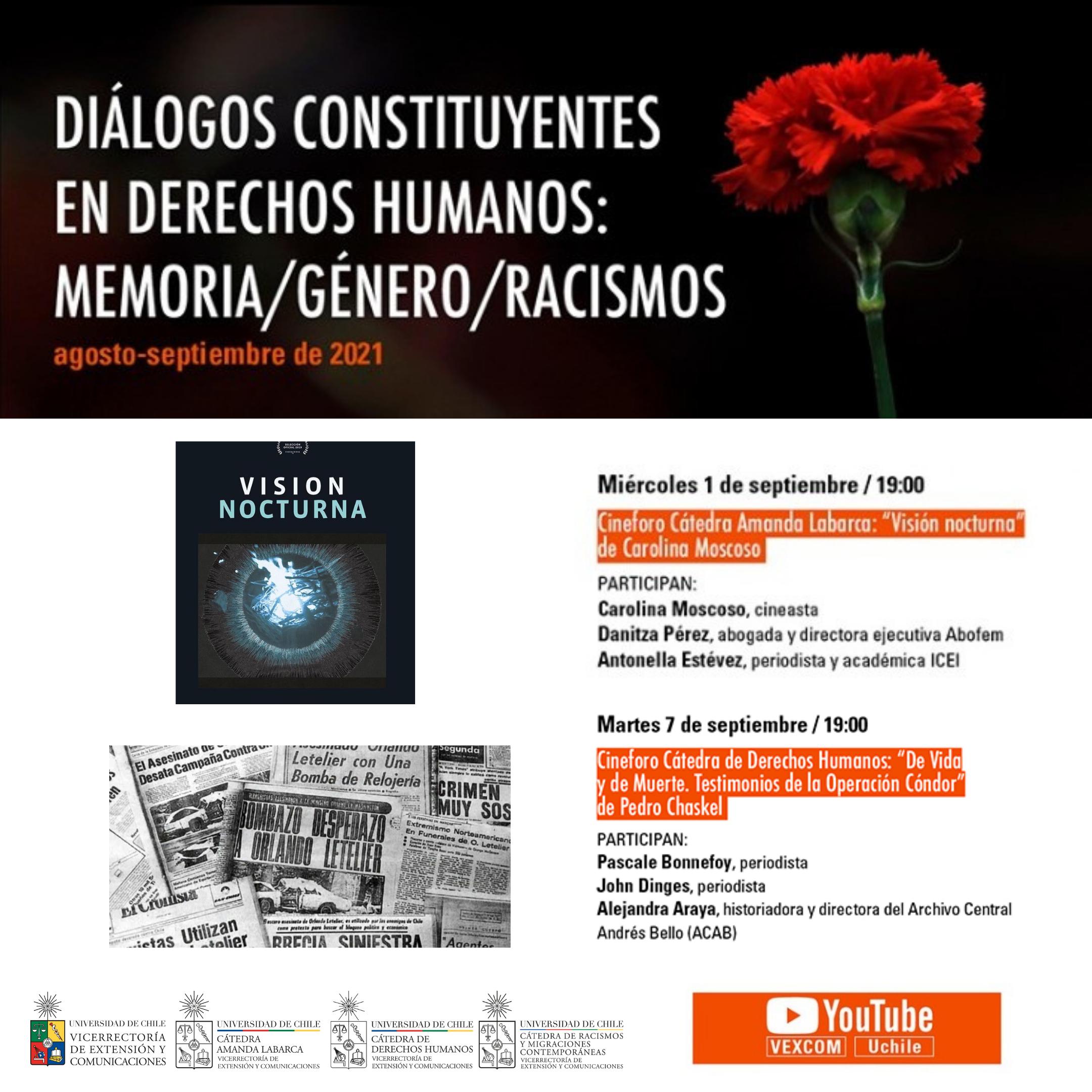 Documentales sobre el abuso sexual y la Operación Cóndor protagonizan ciclo de cine sobre Derechos Humanos en la U. de Chile