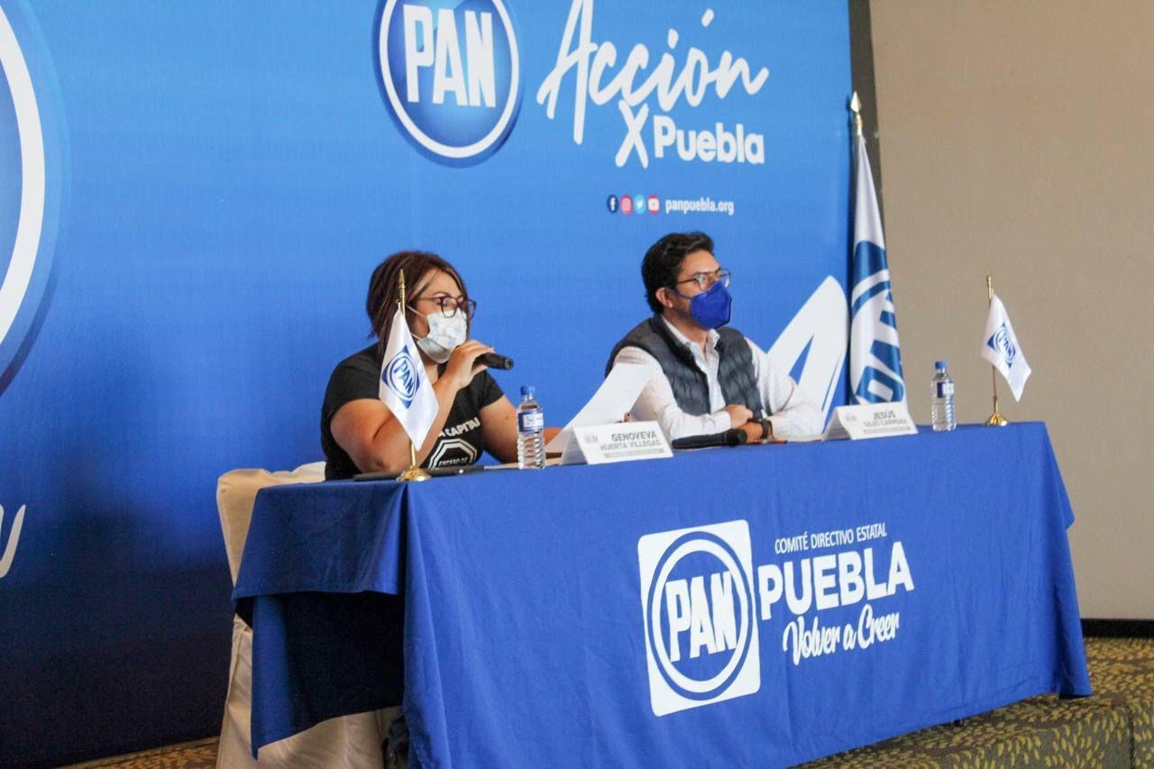 Genoveva Huerta impone por segunda vez una comisión electoral en el PAN