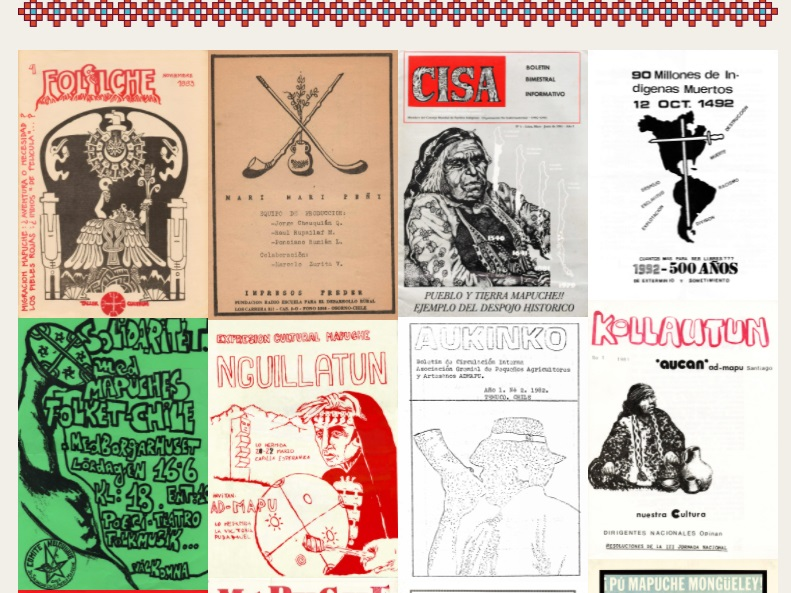 Gráficas Mapuche: Presentan exposición en línea con valiosos archivos históricos