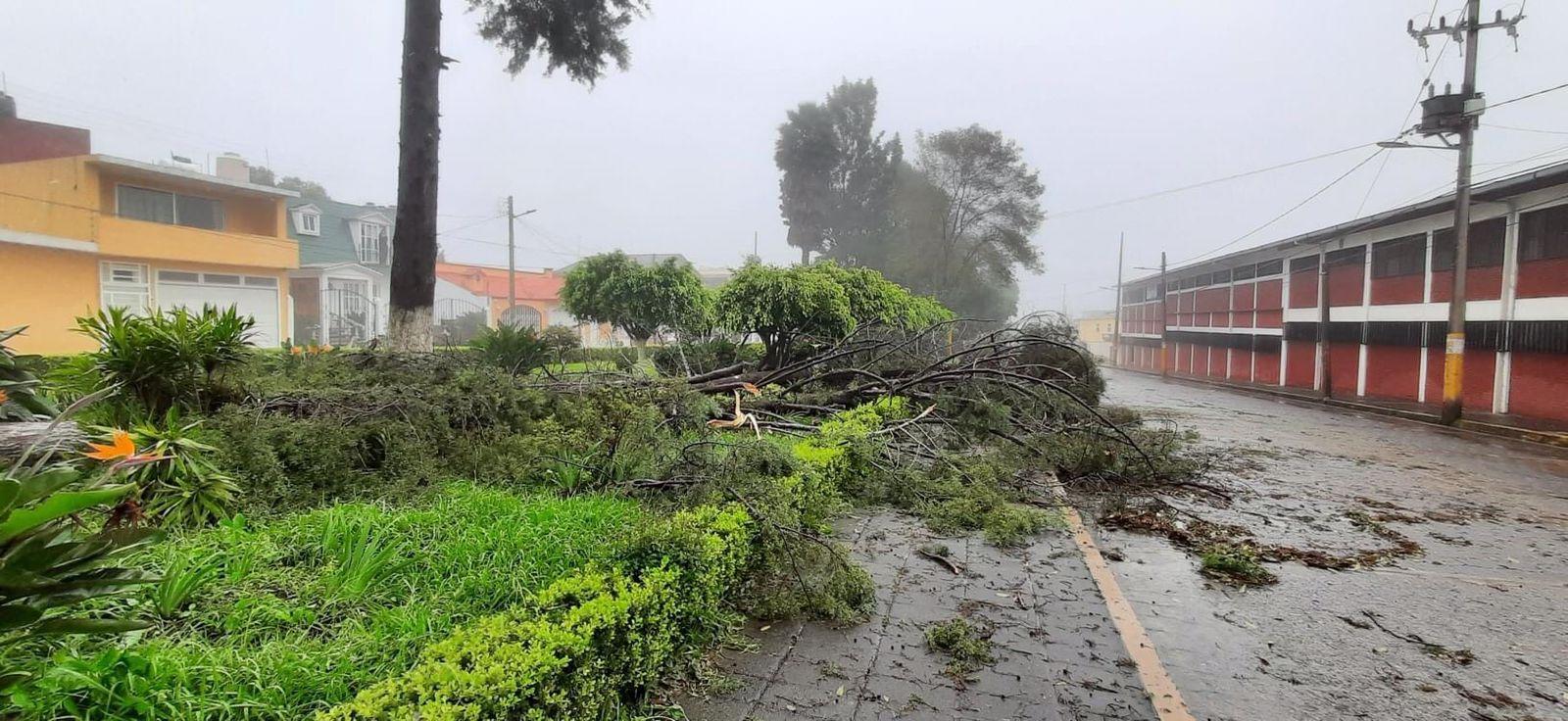 Huracán Grace mantiene en alerta a la Sierra Norte y Nororiental de Puebla