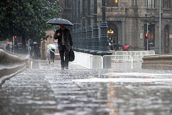 Mapa identifica las comunas que sufren más daños por precipitaciones en la Región Metropolitana