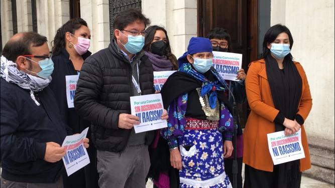 «No queremos una ultraderecha que agravie, ofenda y discrimine al Pueblo Mapuche»: Parlamentarios del PC expresaron su respaldo a Machi Francisca Linconao