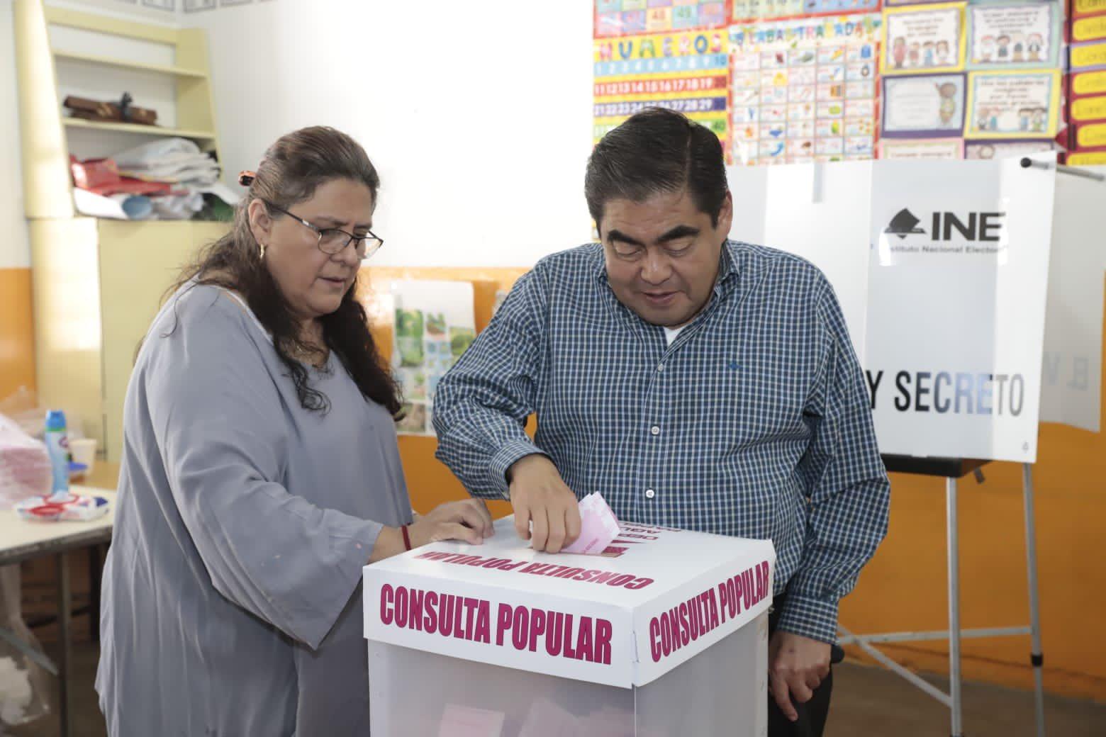 «Todos los ciudadanos podemos hacer valer nuestra voz»: Barbosa