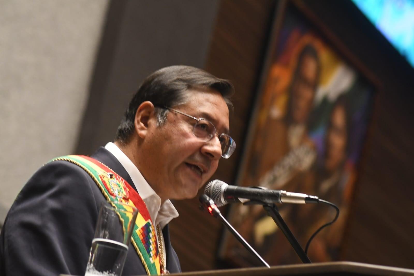 No a la impunidad: Presidente de Bolivia promete «no descansar» en búsqueda de sanciones para responsables del Golpe de Estado de 2019