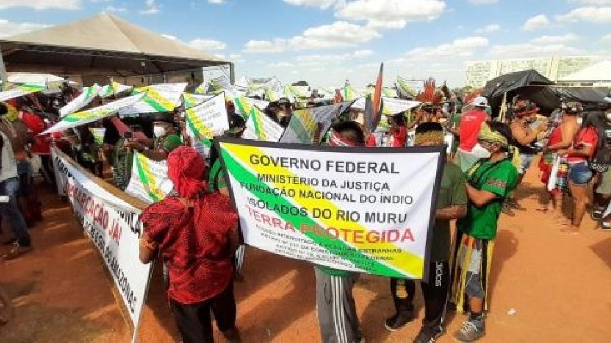 Movimiento indígena de Brasil continúa en la lucha por el territorio