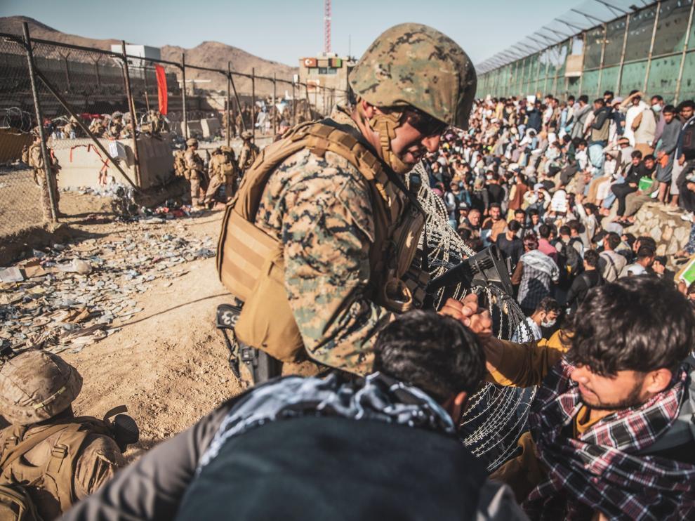 """EE.UU. """"voló"""" última base CIA en Afganistán justo el día del atentado en aeropuerto de Kabul"""
