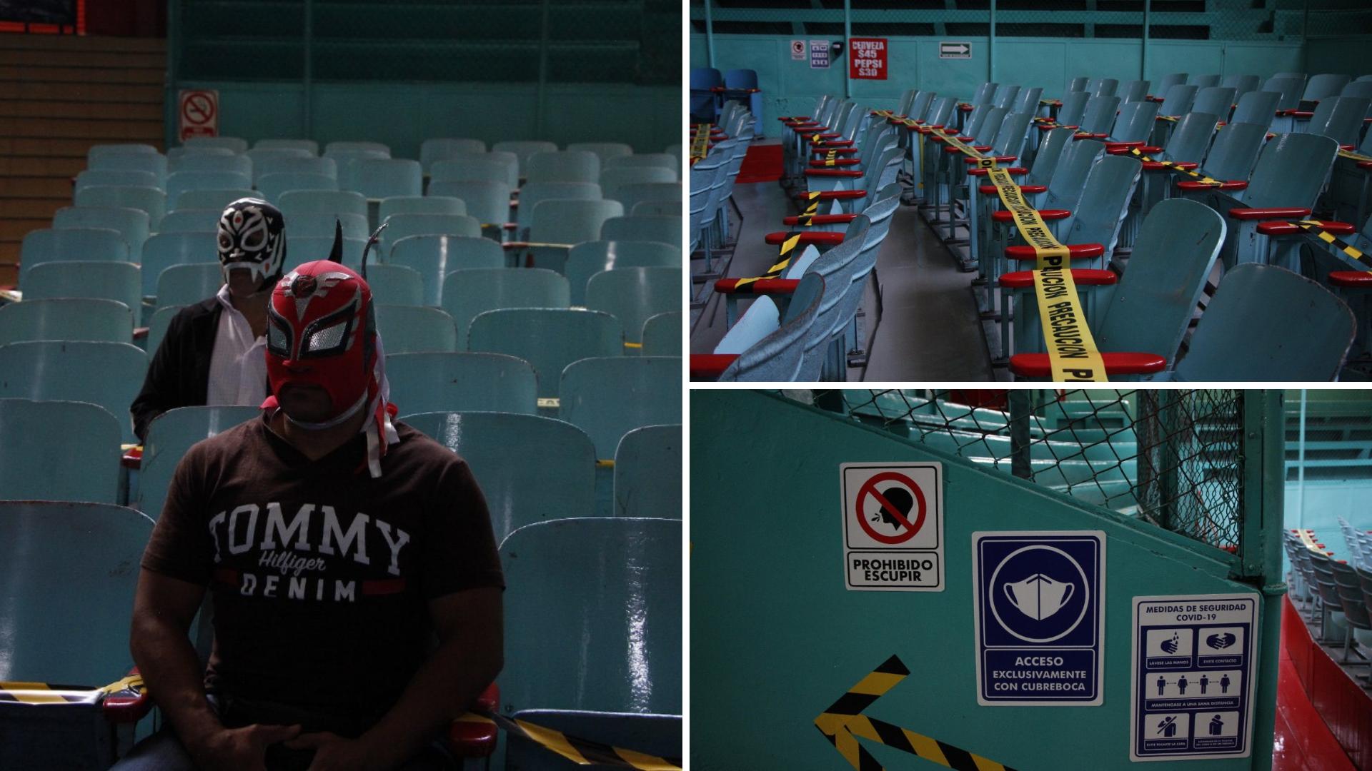 FOTONOTA | Arena Puebla con protocolo COVID-19; el espectáculo, la próxima semana