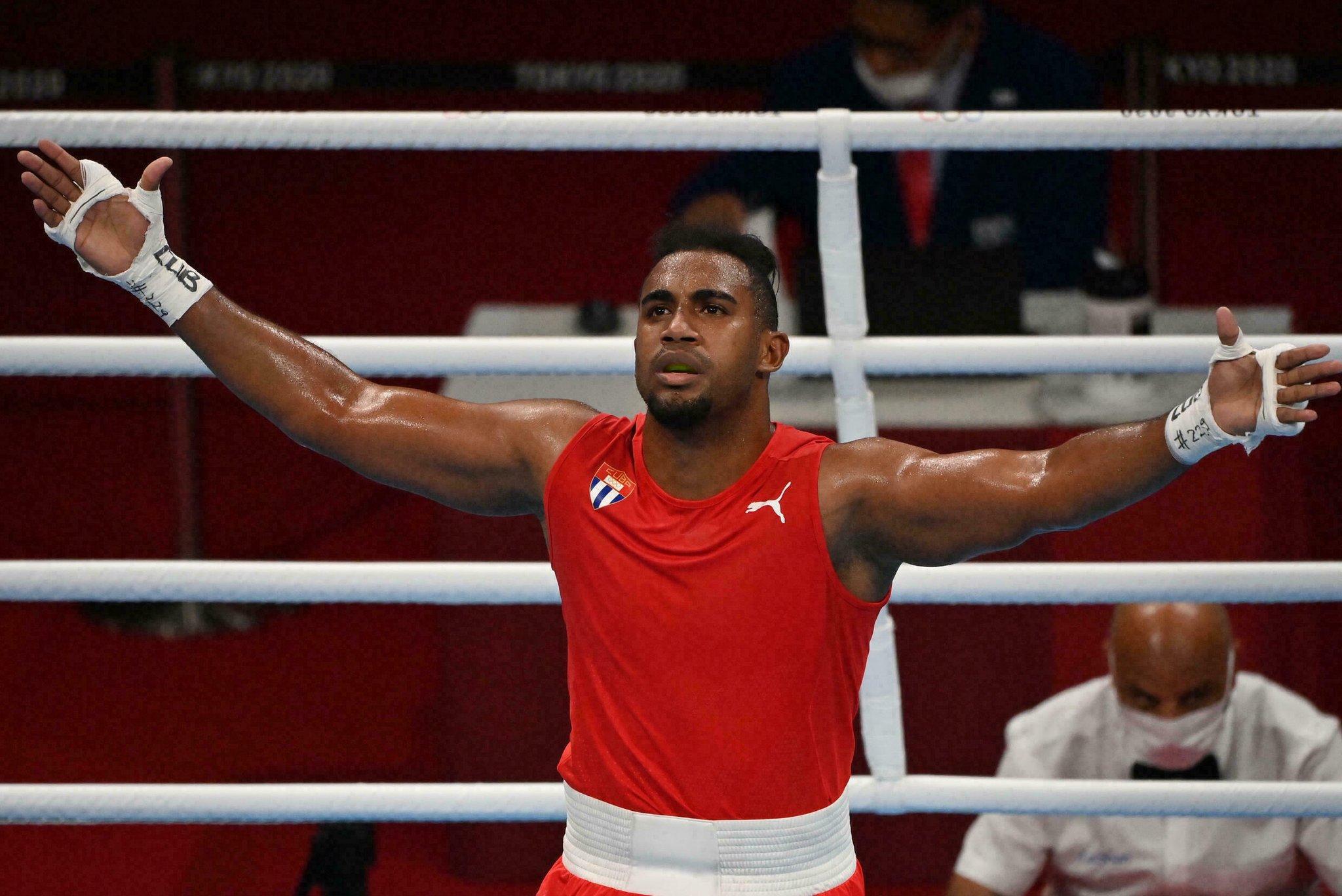 Arlen López le da a Cuba un nuevo oro olímpico en boxeo semipesado