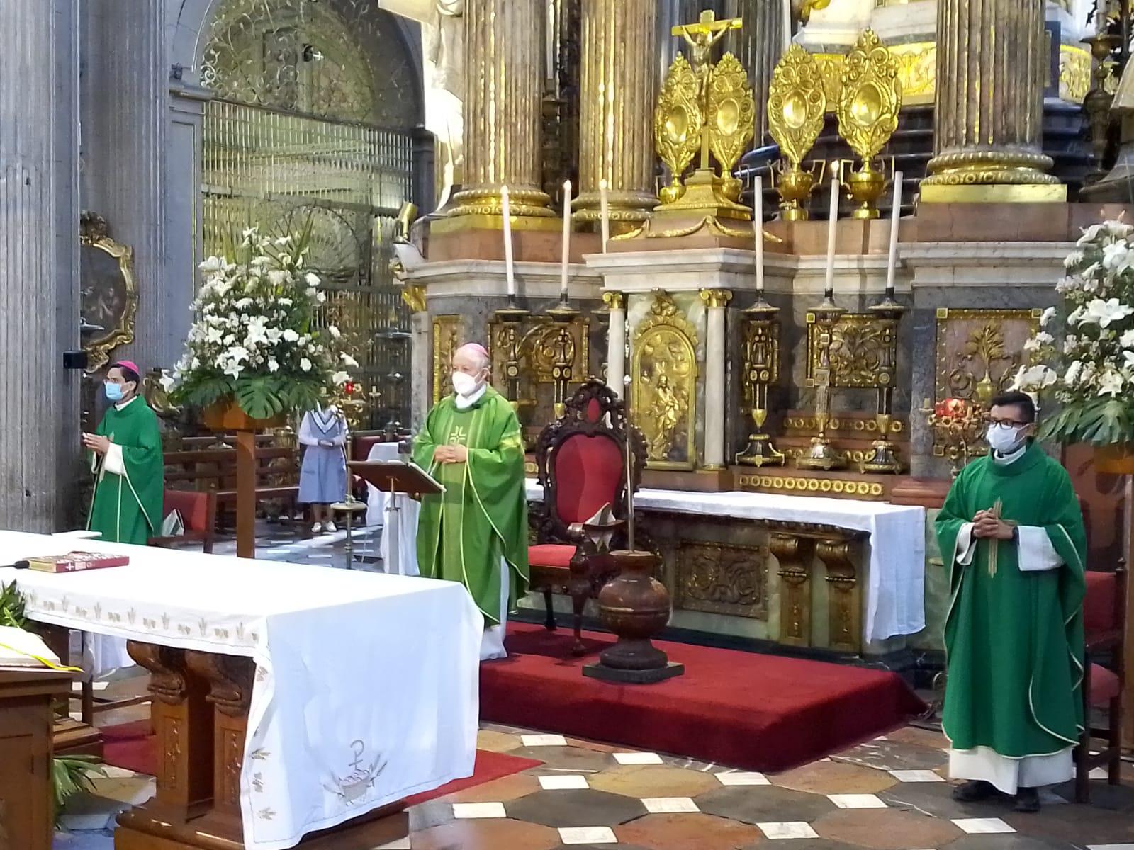 Reforzar medidas de higiene por regreso a clases, pide arzobispo