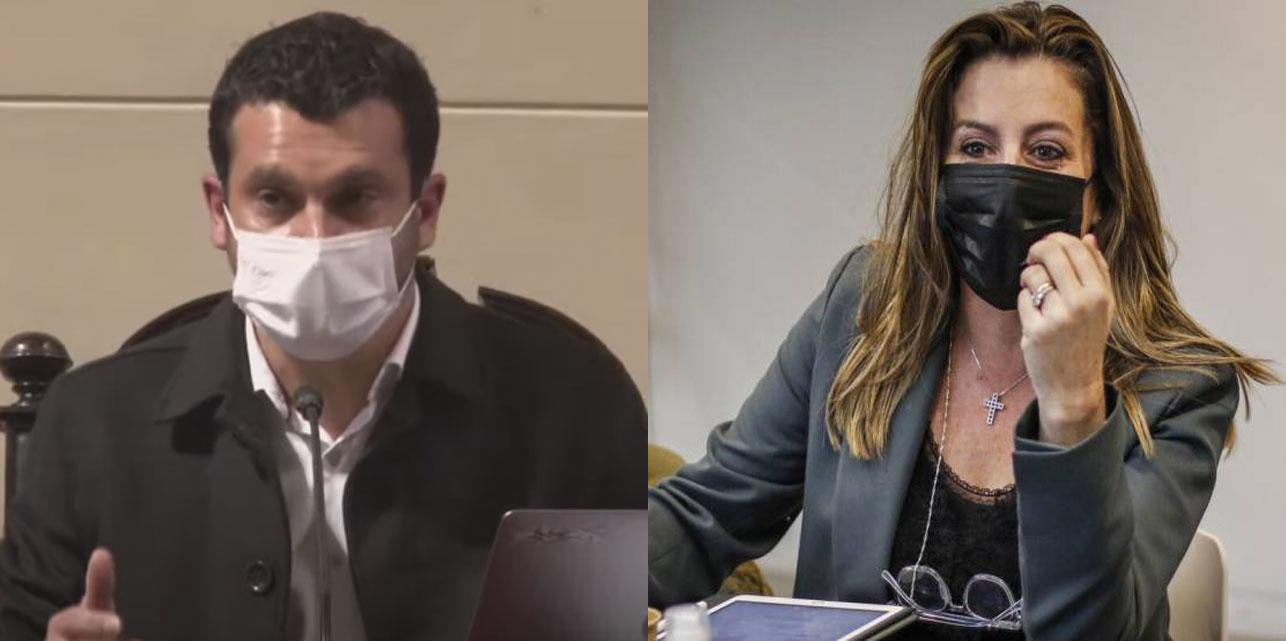 """""""No levante la voz señora Marinovic, estamos usando el micrófono"""": Bassa le pide a la constituyente de Vamos por Chile hacer buen uso de la palabra"""