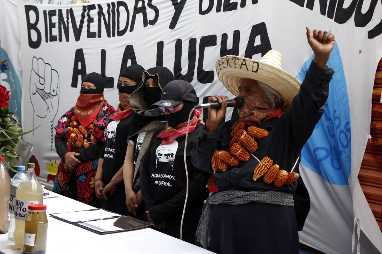 Pueblos Unidos y Zapatistas del Agua inician encuentro internacional