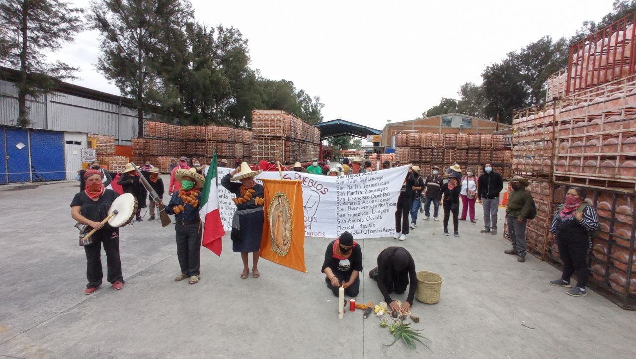 Bonafont tacha de vandalismo toma de sus instalaciones; pide intervención del gobierno