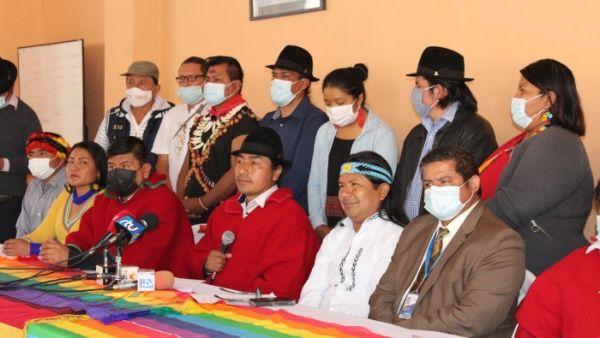Trabajadores ecuatorianos se movilizan en protesta contra Gobierno de Lasso