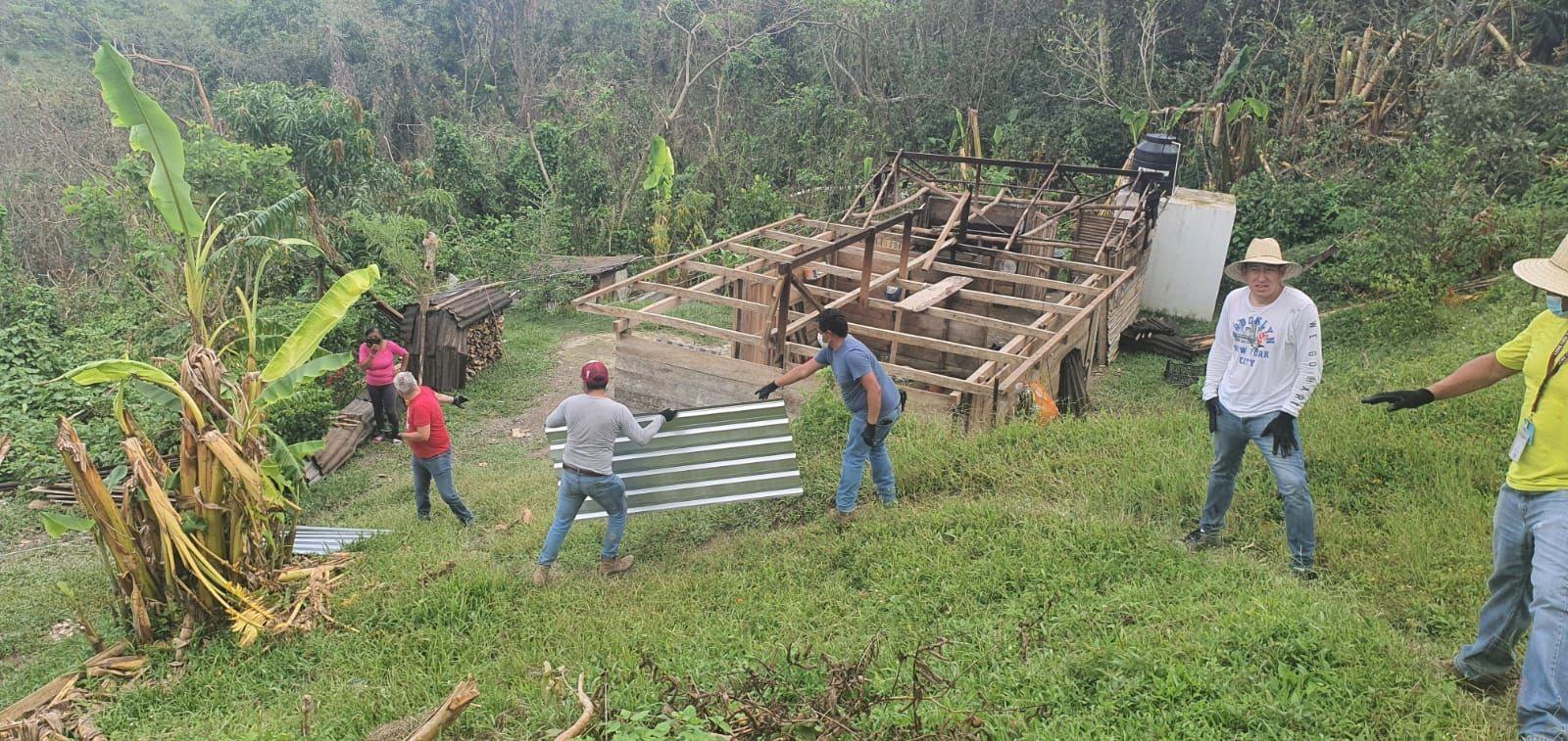Gobierno estatal destina 225 mdp a damnificados por huracán Grace