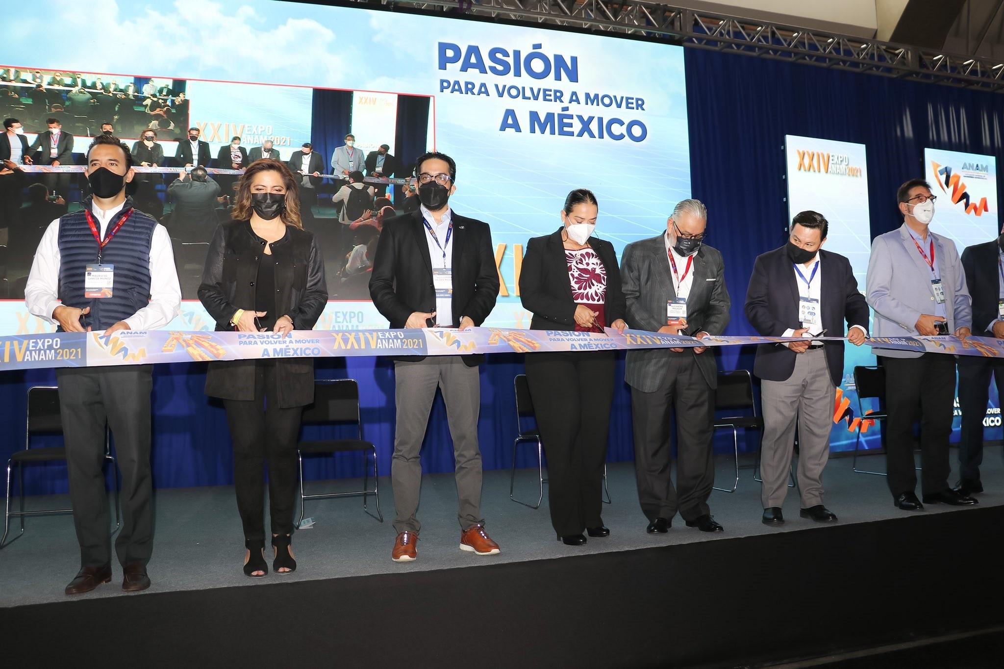 Inauguran Expo ANAM 2021 en la ciudad de Puebla