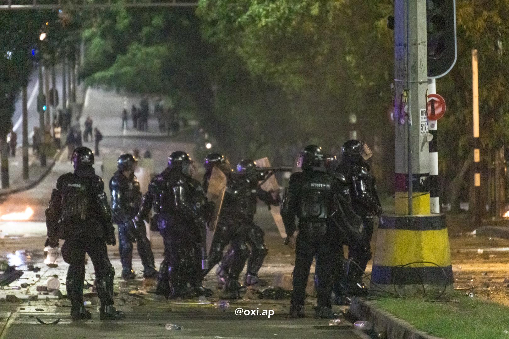 """Una unidad militar británica en Colombia """"ayudó"""" a la policía que mató a 63 manifestantes"""