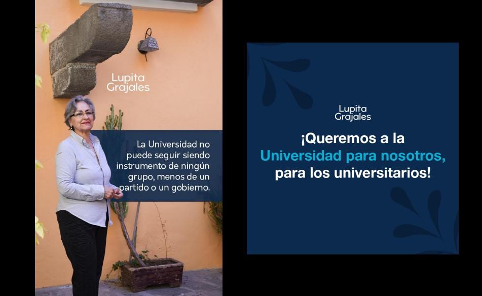 Grajales presenta 50 propuestas, rumbo a la rectoría de la BUAP