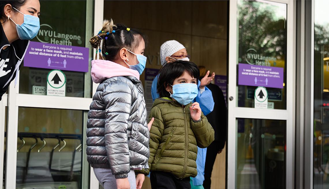Más de un millón 900 mil niños se contagiaron de covid-19 en el 2021