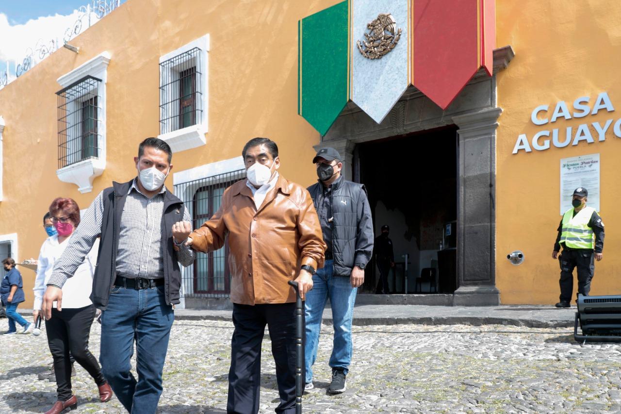 Puebla refuerza cultura de la prevención para evitar desastres