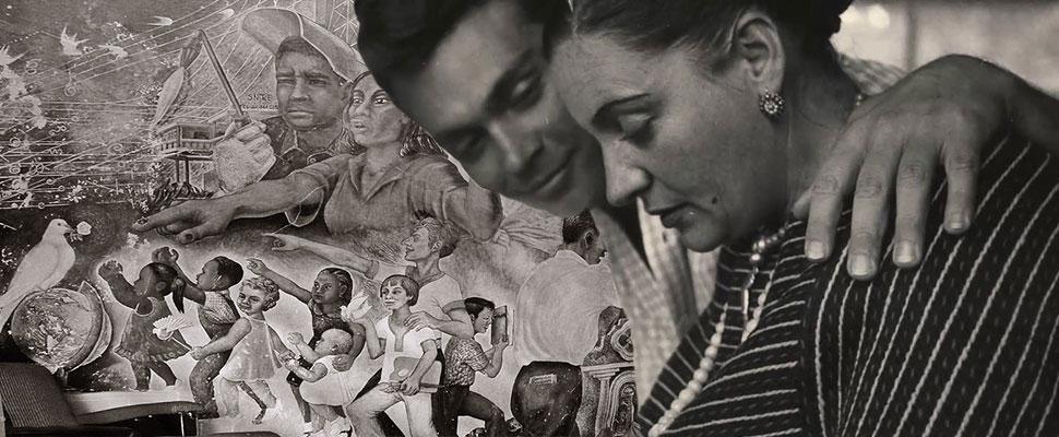 Aurora Reyes: primera muralista mexicana