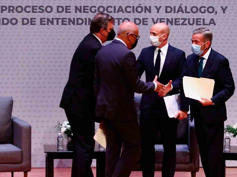 Comenzó en México tercera ronda de negociaciones políticas de Venezuela