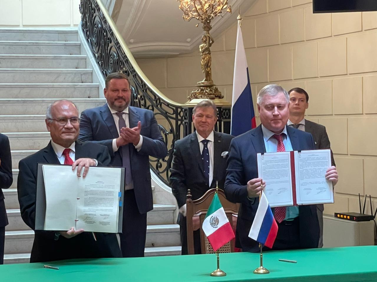 México y Rusia estrechan cooperación sobre ciencia espacial