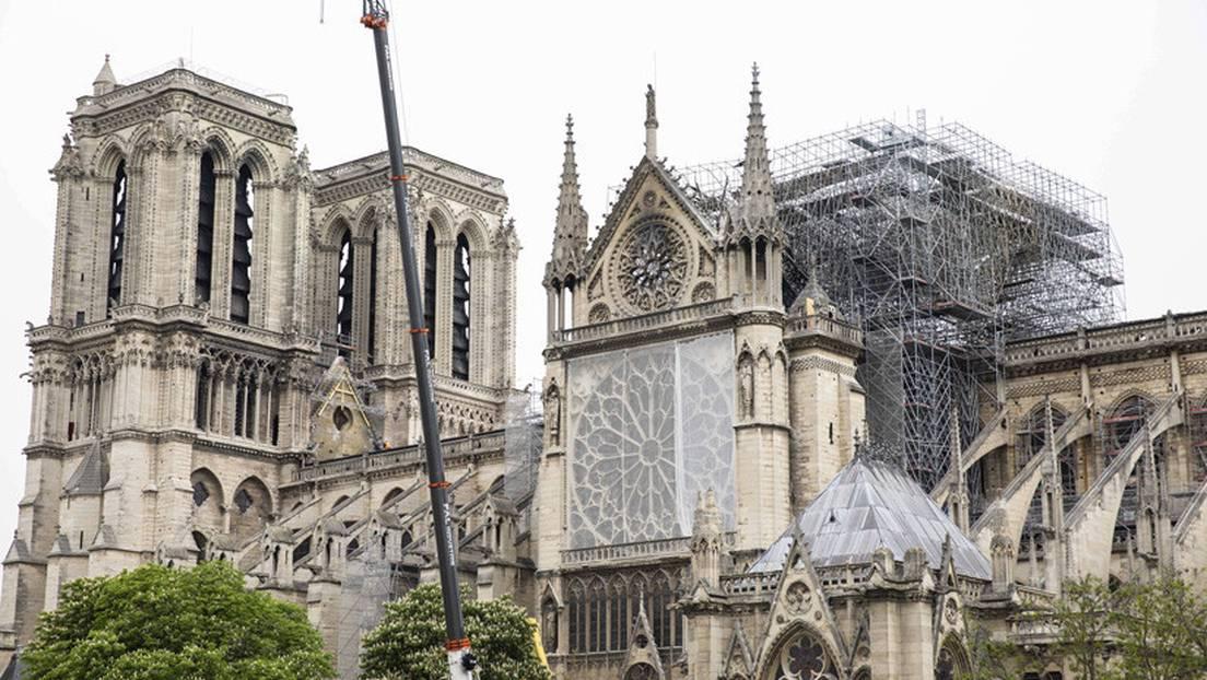Catedral de Notre Dame ya está estable para comenzar su reconstrucción
