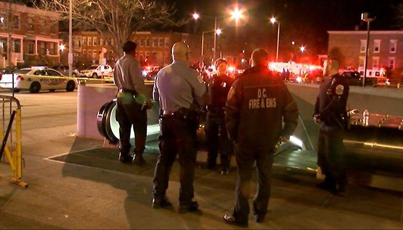 Balacera en Washington D.C. dejó al menos tres muertos y tres heridos