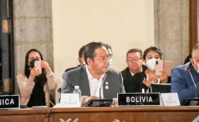 """Presidente de Bolivia: América Latina necesita un organismo regional que vele por la democracia: """"que no haga injerencia"""""""