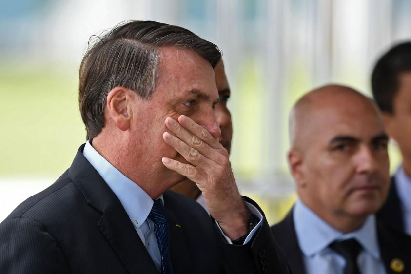 Desaprobación de Bolsonaro llega a su punto máximo desde el inicio del mandato