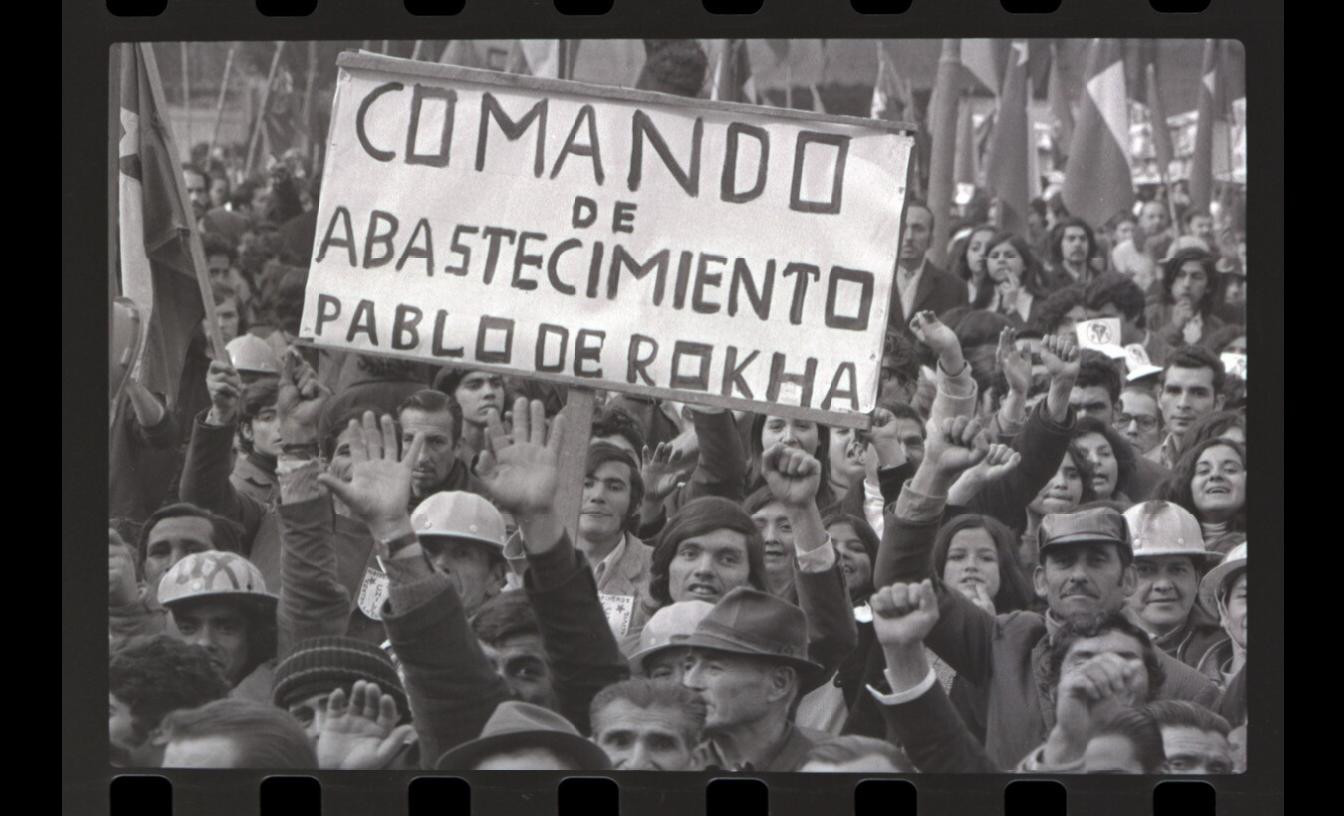 El gobierno popular de Allende en el lente del fotógrafo portugués Armindo Cardoso