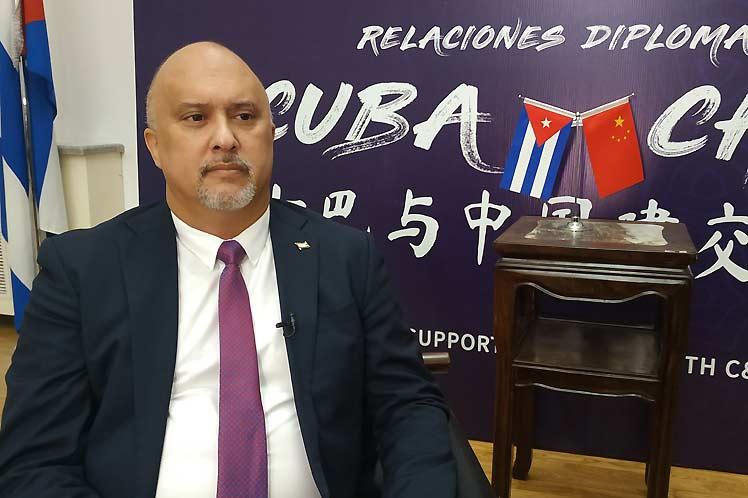 Embajador Carlos Miguel Pereira: Cuba tiene con China 61 años de relaciones maduras y la vista al futuro