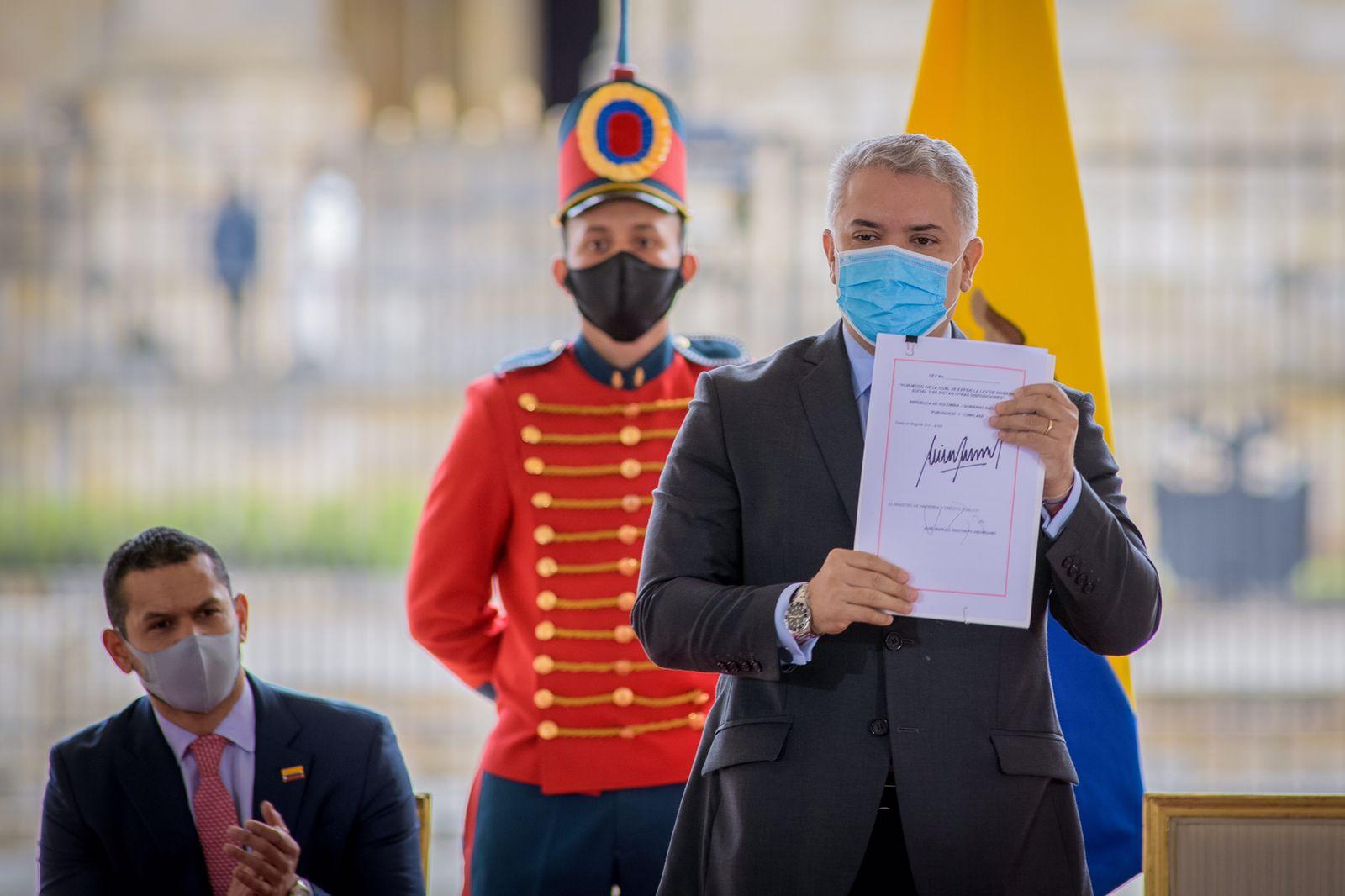 Duque Colombia reforma