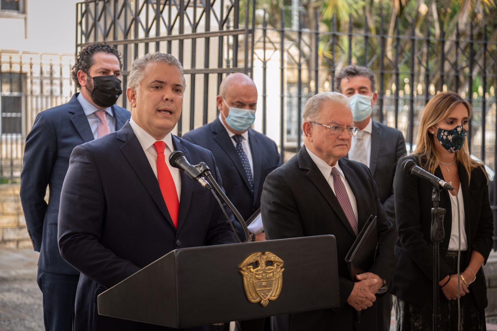Duque sobre diálogo en Venezuela: cualquier acuerdo será una tragedia continental