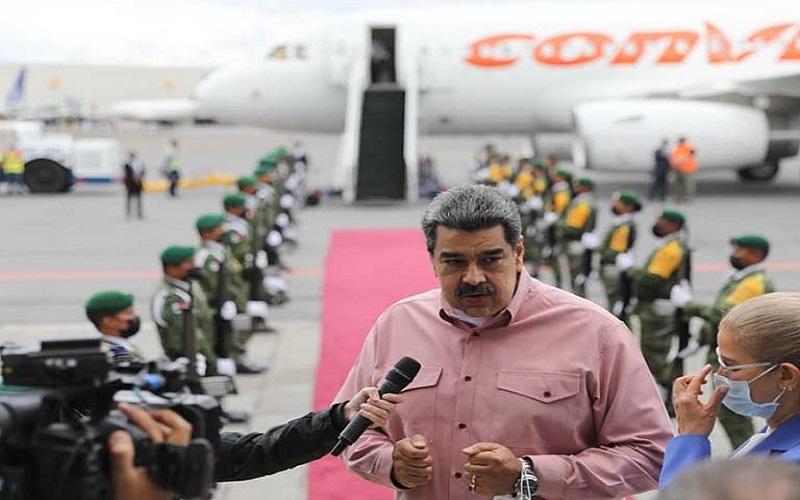 """Presidente de Venezuela: """"Respondimos con altura a las provocaciones de Lacalle Pou y Abdo Benítez"""""""