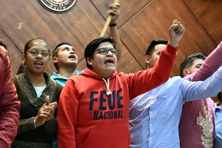 Estudiantes Ecuador recorte presupuestario