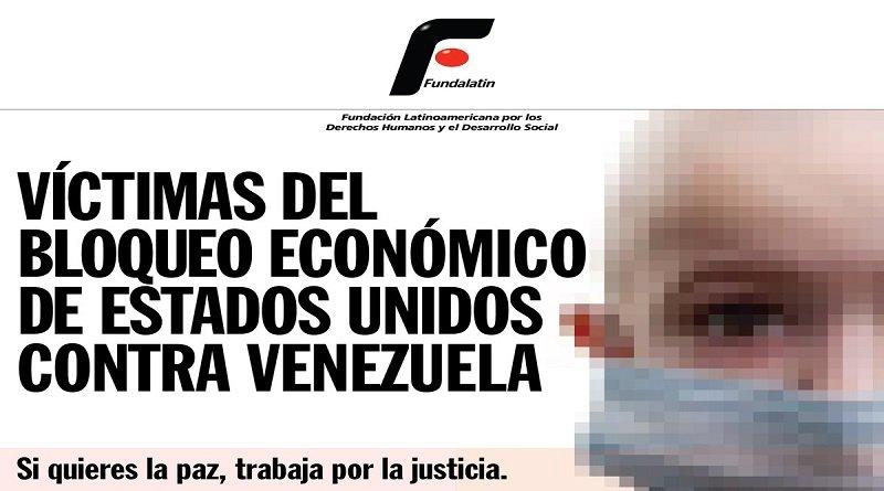 En Venezuela piden aplicar levantamiento del bloqueo recomendado por la ONU