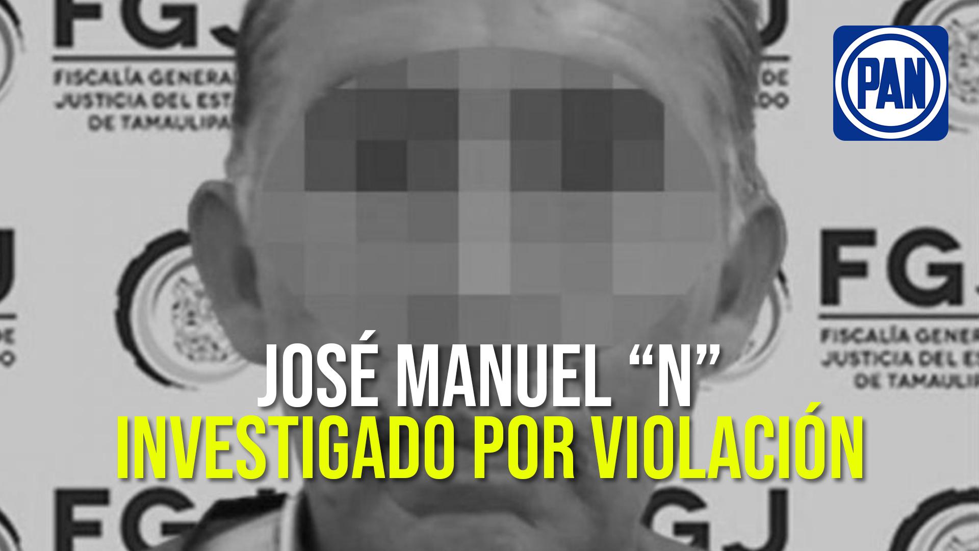 Detienen por violación a dirigente panista de municipio tamaulipeco