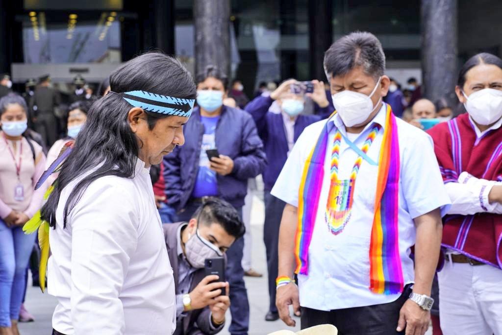 Indígenas de Ecuador piden amnistía para procesados y sentenciados por protestas de 2019