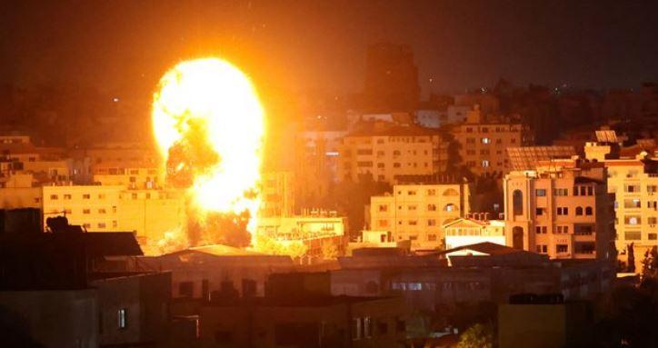 Aviones israelíes lanzaron ataque contra la Franja de Gaza