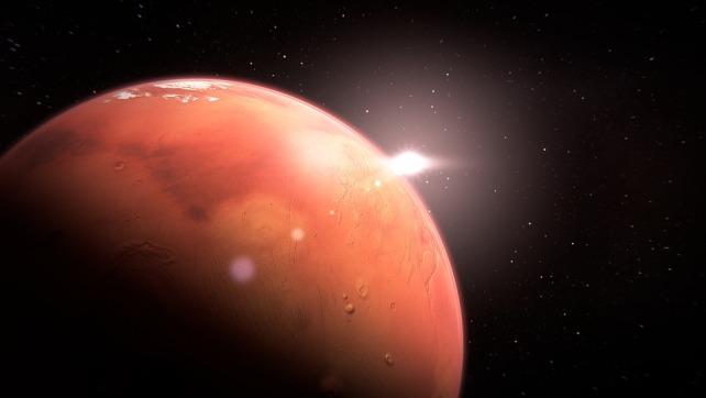NASA confirma que Marte experimentó larga serie de súper erupciones volcánicas